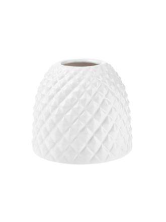 Tropical White Vase 11cm