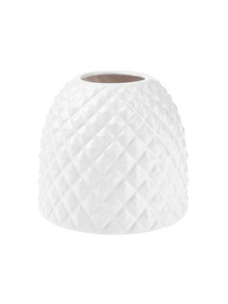 Tropical White Vase 15.5cm