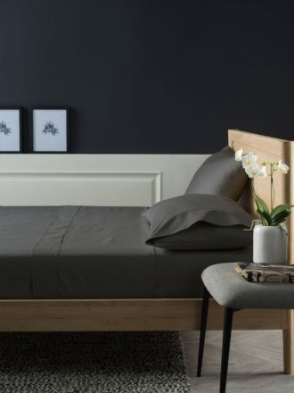 1000TC Cotton Charcoal Sheet Set