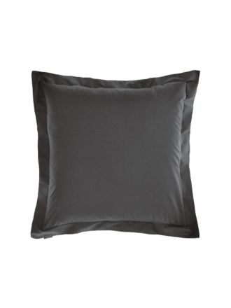Vienna Charcoal European Pillowcase
