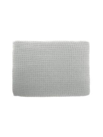 Waffle Grey Blanket