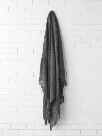 Winterfell Charcoal Throw