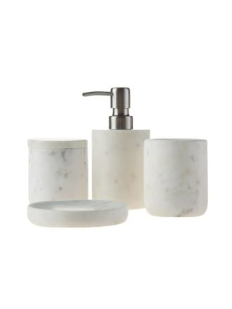 Marble White Bathroom Collection