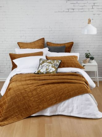 Meeka Chestnut Coverlet Set