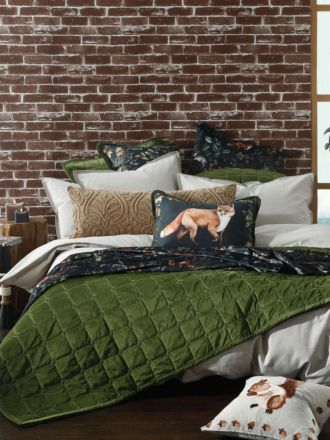 Meeka Pesto Coverlet Set