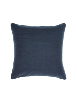 Nimes Indigo Linen European Pillowcase