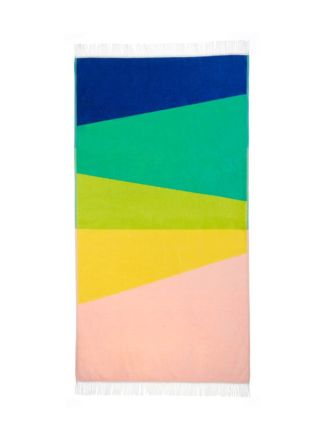 Paz Yellow Beach Towel