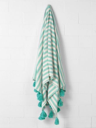 Pica Turquoise Bed Cover