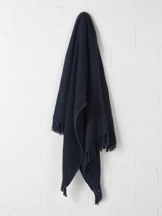 Pier Indigo Throw