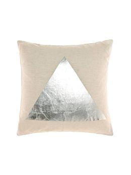 Apex Silver Cushion 50x50cm
