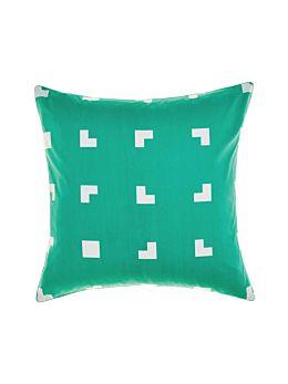 Meta Green European Pillowcase