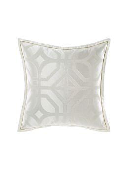 Treillage Silver European Pillowcase
