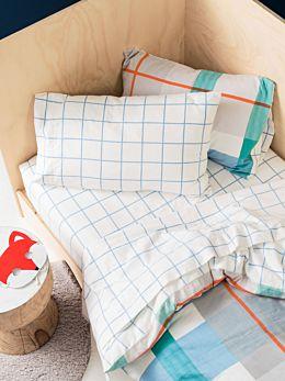 Blanky Blue Flannelette Sheet Set