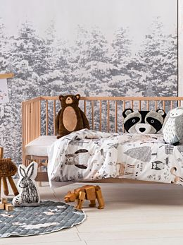 Into The Woods Cot Quilt Cover