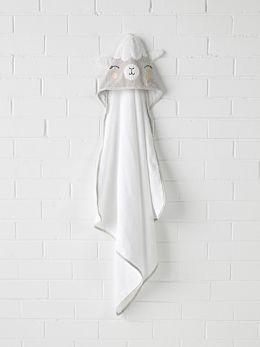 Lil' Llama Hooded Bath Towel