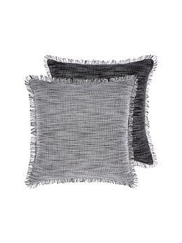 Albers Black Cushion 50x50cm