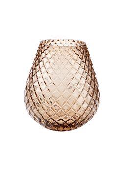 Bulb Caramel Vase