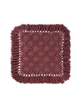 Circlet Rhubarb Cushion 48x48cm
