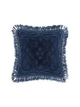 Drift Denim Cushion 50x50cm