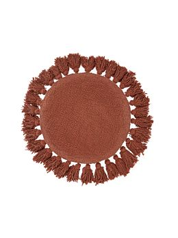 Florida Baked Clay Round Cushion 45cm Round