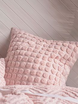 Fog Pink European Pillowcase