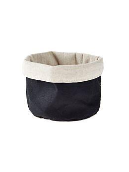 Frida Black Storage Basket