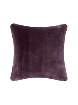 Mink Aubergine Cushion 45x45cm