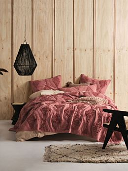 Piero Rhubarb Bed Cover
